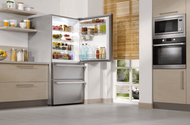 kitchen appliances in home